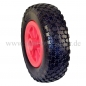 PU - Polyurethane wheel, floats like a pneumatic wheel. Ø 200 mm