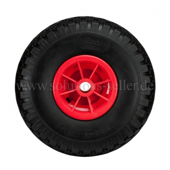 PU - Polyurethane wheel, floats like a pneumatic wheel. Ø 260mm