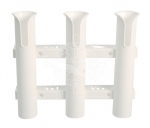 Fishing rod holder 3-way plastic wall mounting