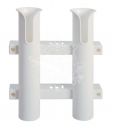 Fishing rod holder 2-way plastic wall mounting